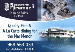 Miramar Restaurant Cabo de Palos Murcia