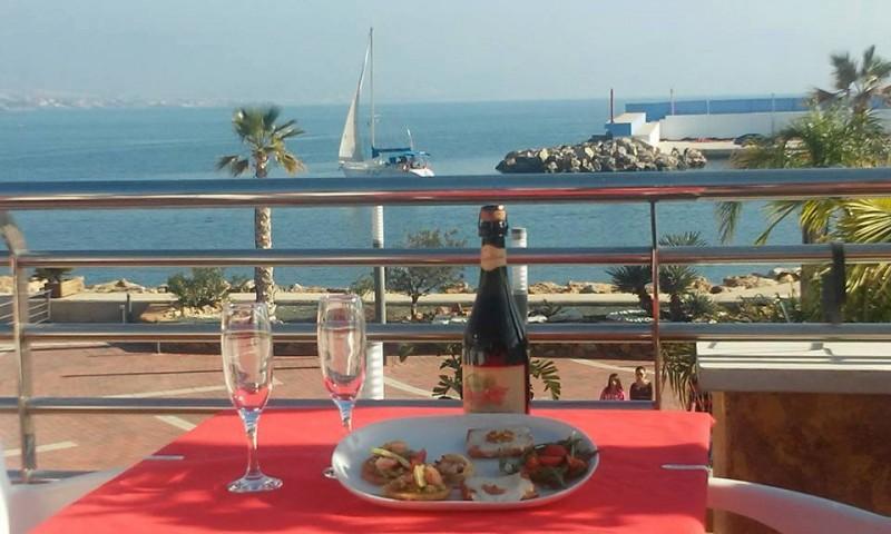 Mamma Mia in Puerto de Mazarrón, authentic Italian cuisine in the marina