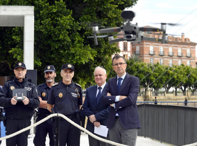 <span style='color:#780948'>ARCHIVED</span> - Murcia police acquire drones to monitor inaccessible areas in the municipality