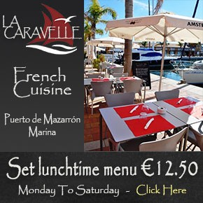 Restaurant La Caravelle Puert de Mazarrón