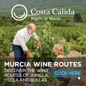 Murcia Turistica Wine routes banner