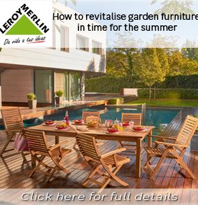 Leroy Merlin General Revitalise your furniture