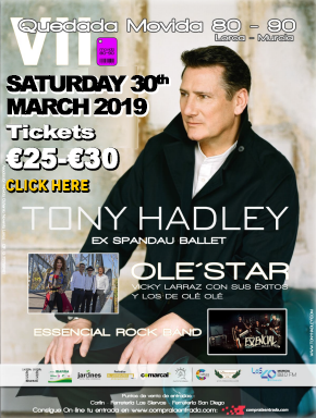 Tony Hadley in Lorca