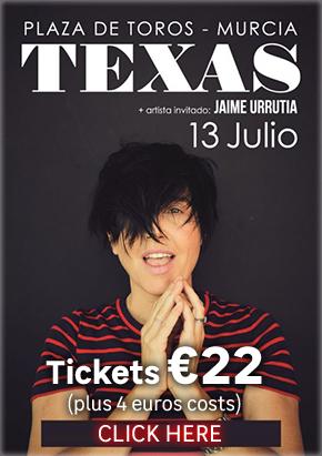 Texas in Murcia Concert