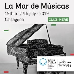 Murcia Turistica Whats On Bulletin La Mar de Musica