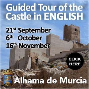 Alhama de Murcia Castle Tour