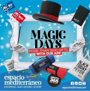 Espacio Mediterraneo Magic Banner weekly Bulletin