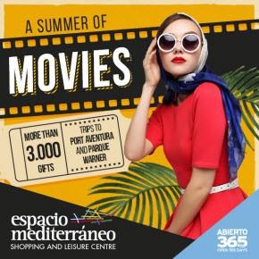 Espacio Mediterraneo Movies Banner weekly Bulletin